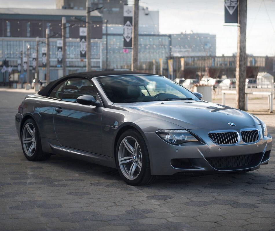 BMW E64 M6 Convertible- manual (!)
